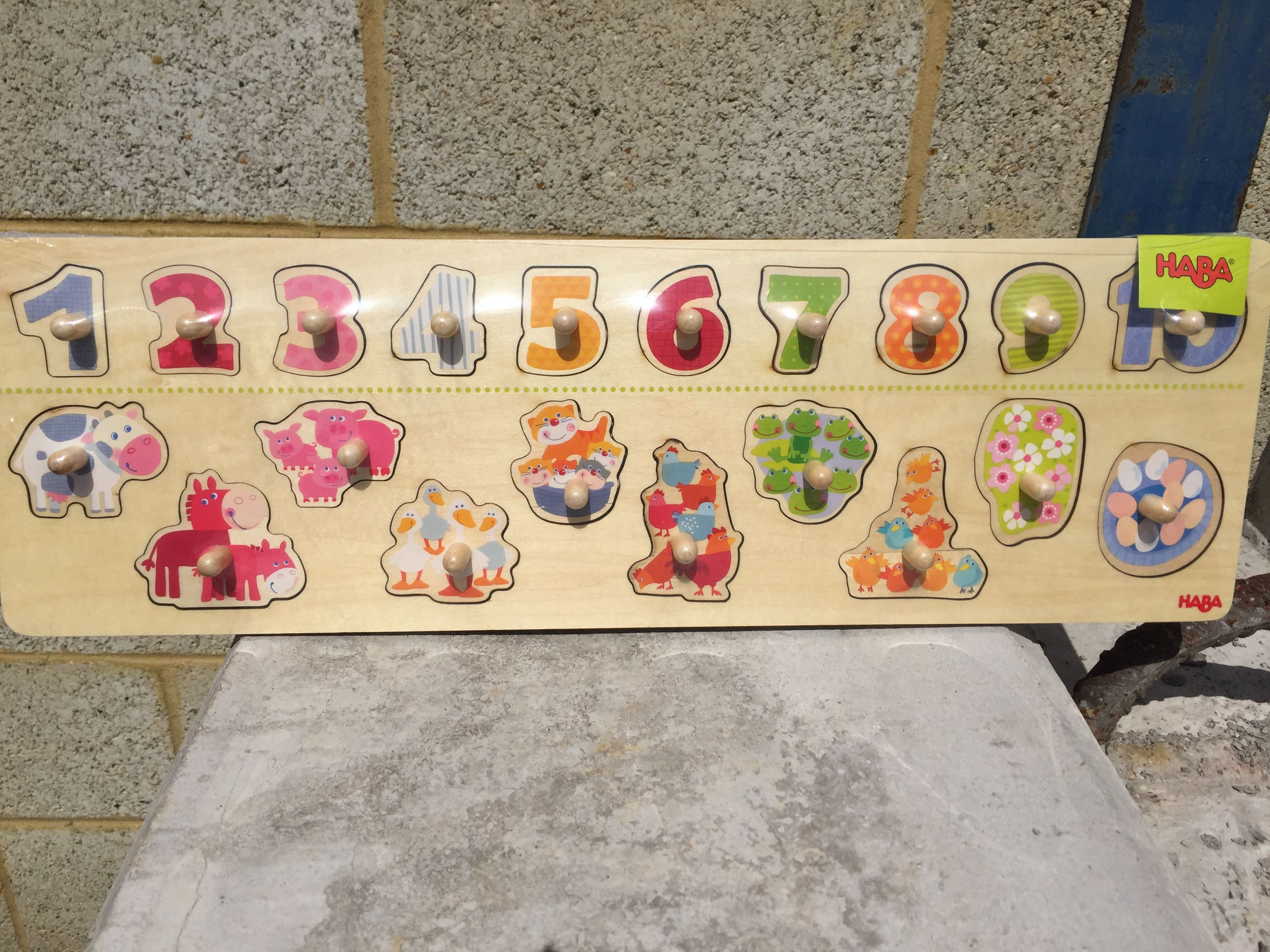 Haba Clutching Puzzle Animals By Number   //playroom In 2019