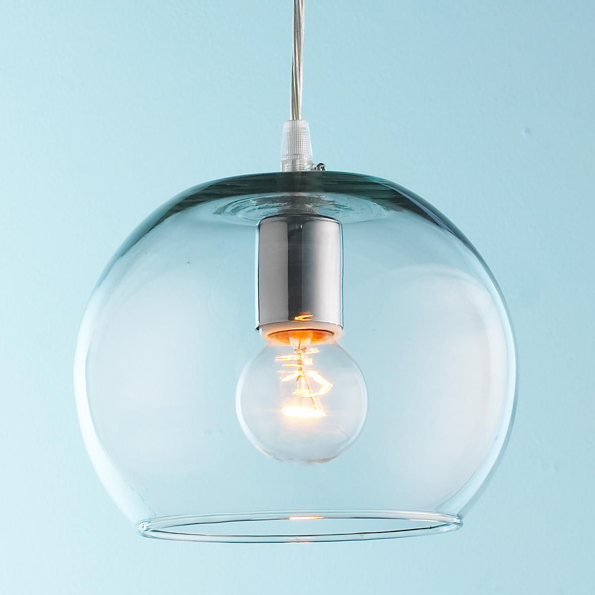 Young House Love Bubble Glass Pendant   Playrooms   Young