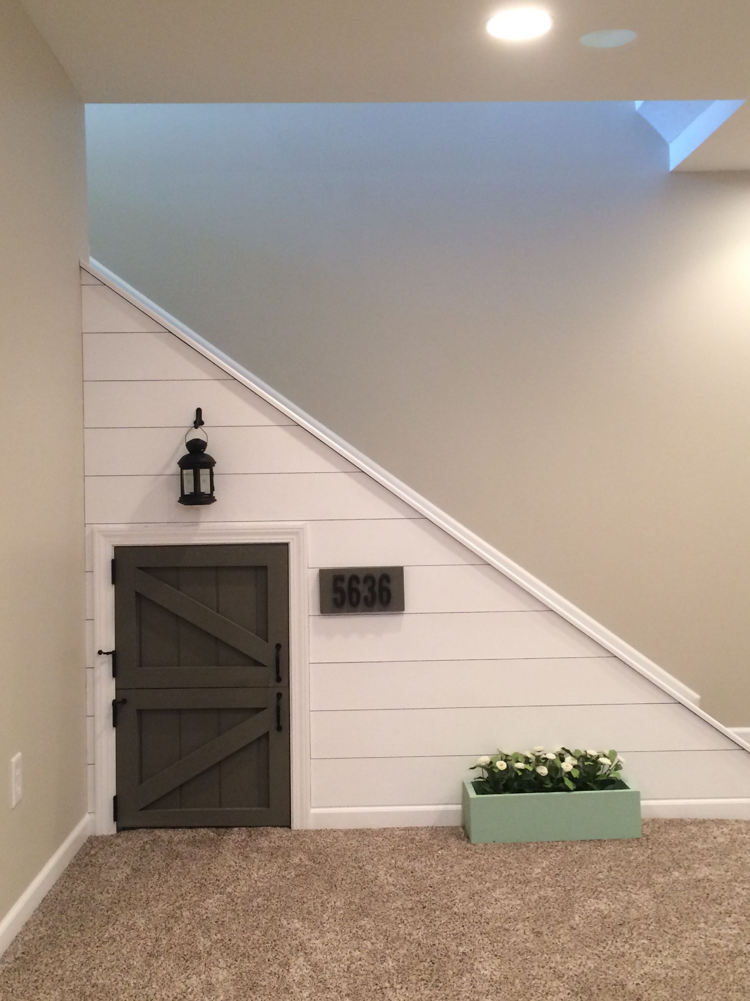 The Girls Love The Playhouse Under The Stairs! | Playroom In 2019