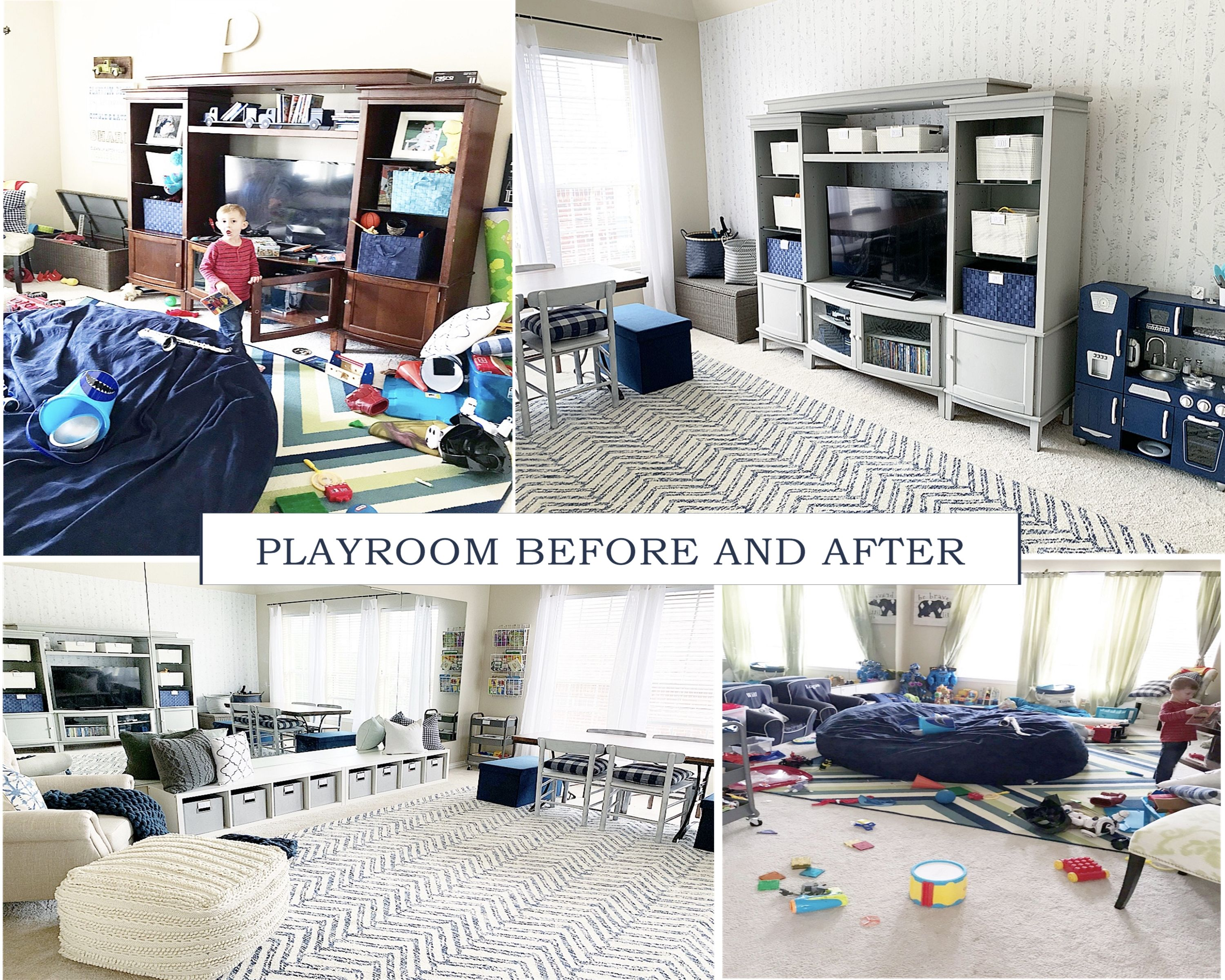 How To Organize Your Playroom With Ease | Playroom, Kids