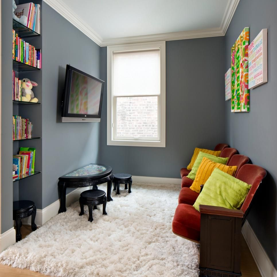 45 Small-space Kids' Playroom Design Ideas | Small Living