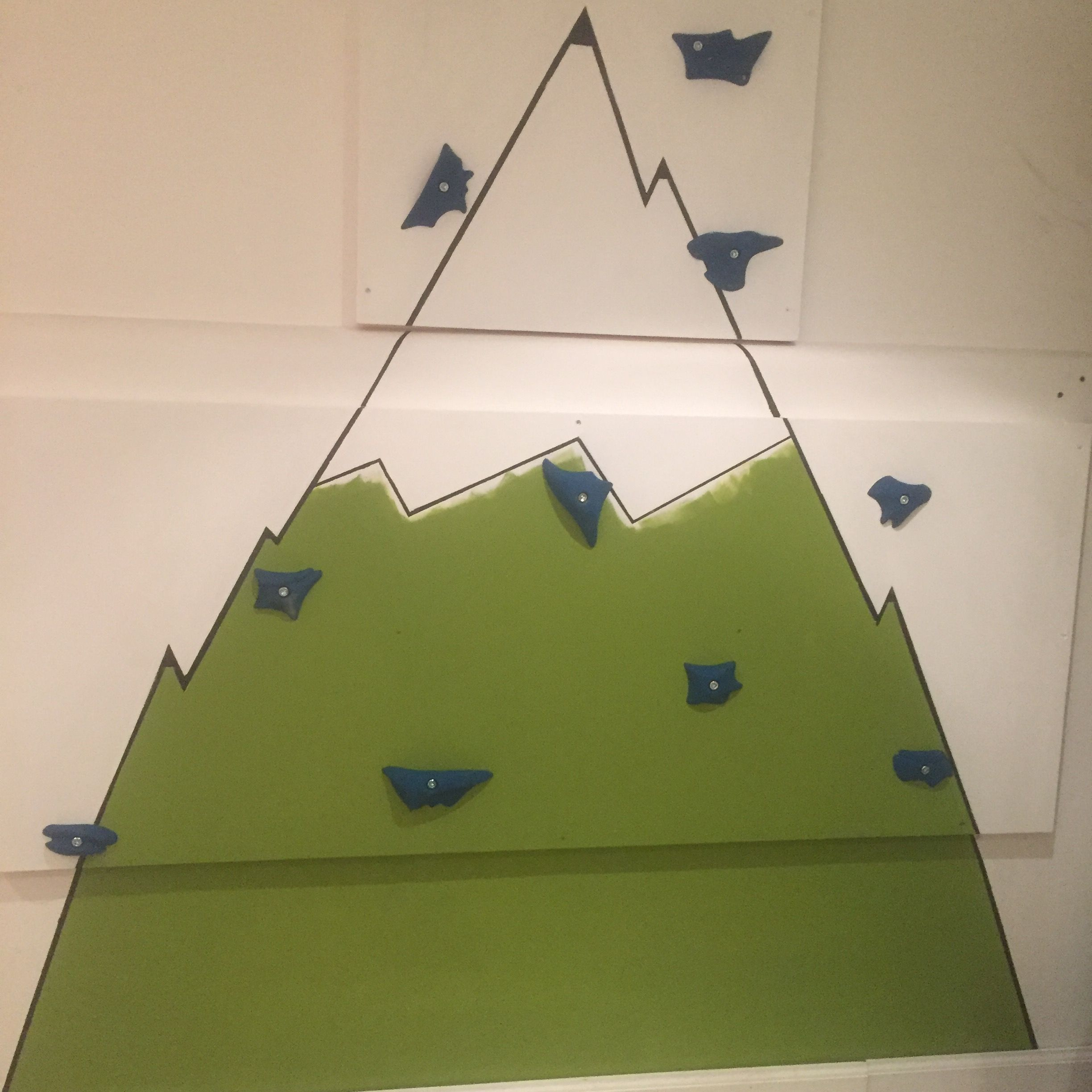 Simple Climbing Board For My Six Year Old's Playroom | Stuff