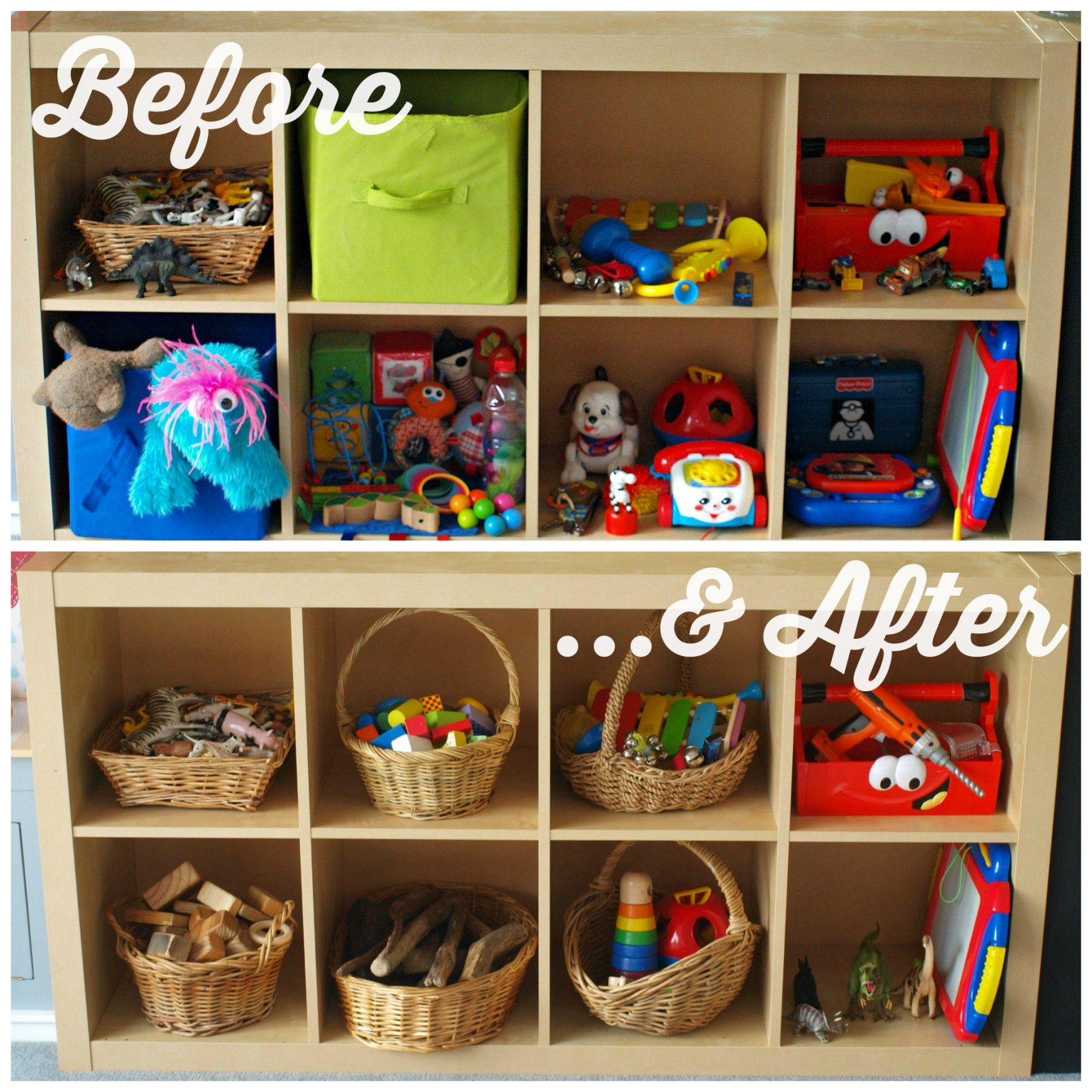 We Do Waldorf | Playroom Cull | Toy Shelf | Ideas For The House