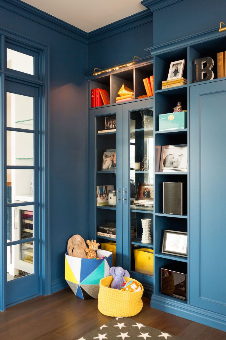 Before + After: A Sophisticated Playroom For Both Kids And