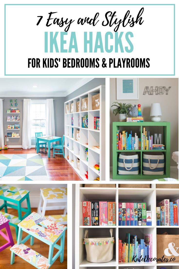 7 Stylish And Easy Ikea Hacks For Kids Playrooms Or Kids