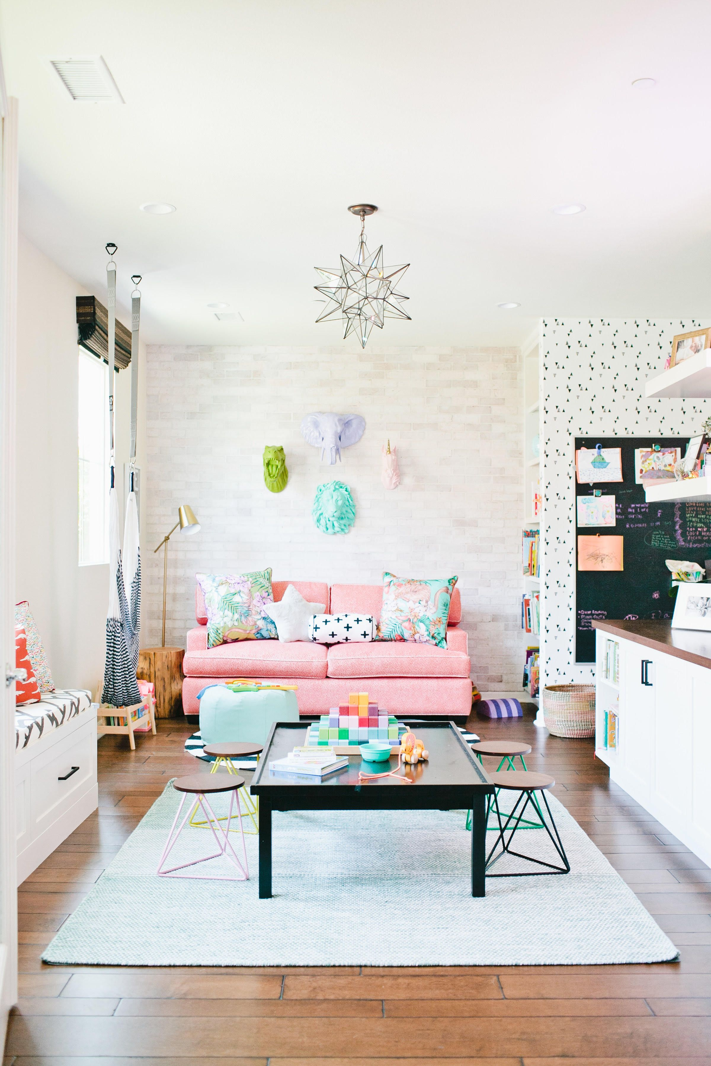 Pin By Tonya Ford On E's Room | Living Room Playroom, Kids