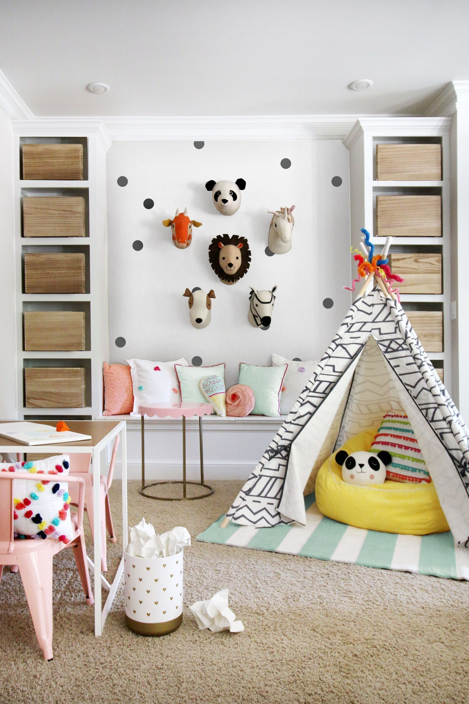 6 Totally Fresh Decorating Ideas For The Kids' Playroom | Decoraciã³n