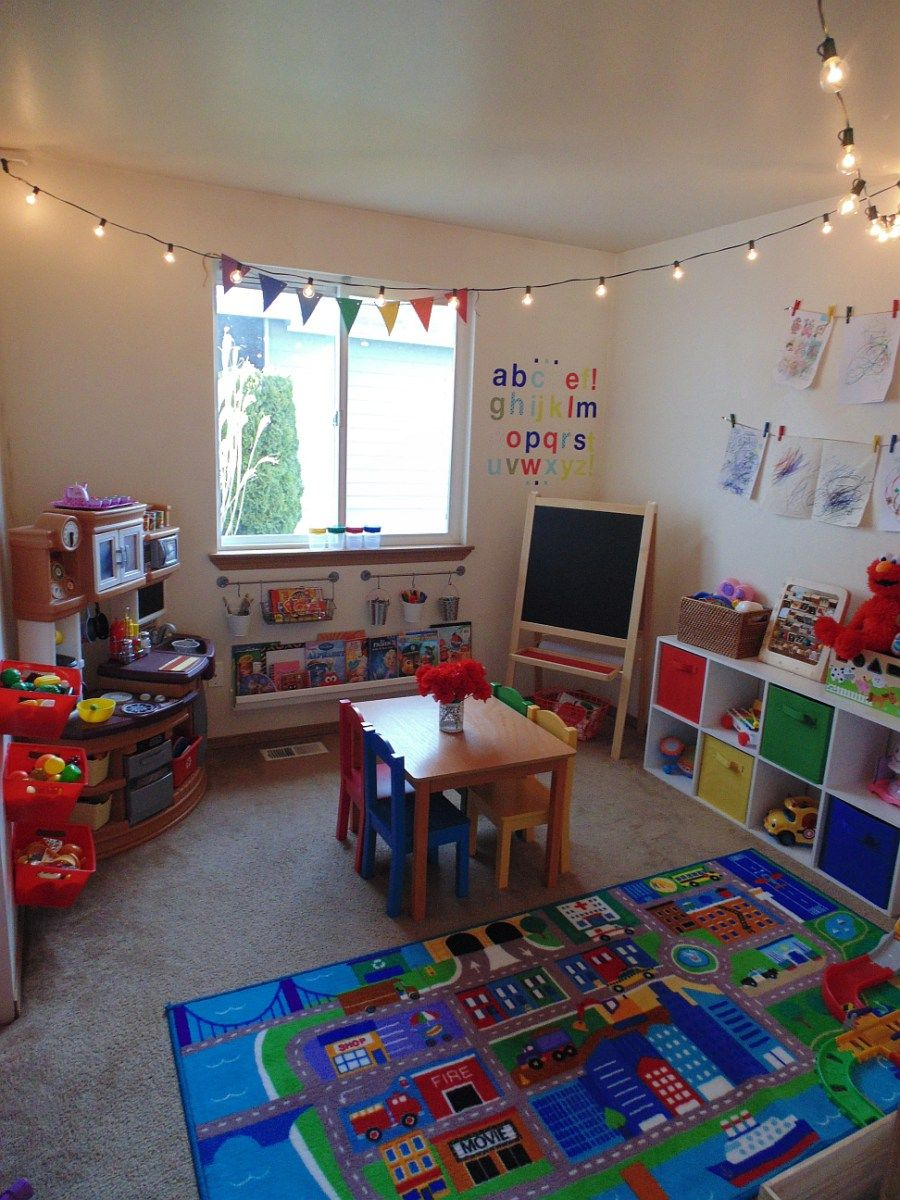 Playroom Makeover On A Budget | Toy Room | Small Playroom, Kids