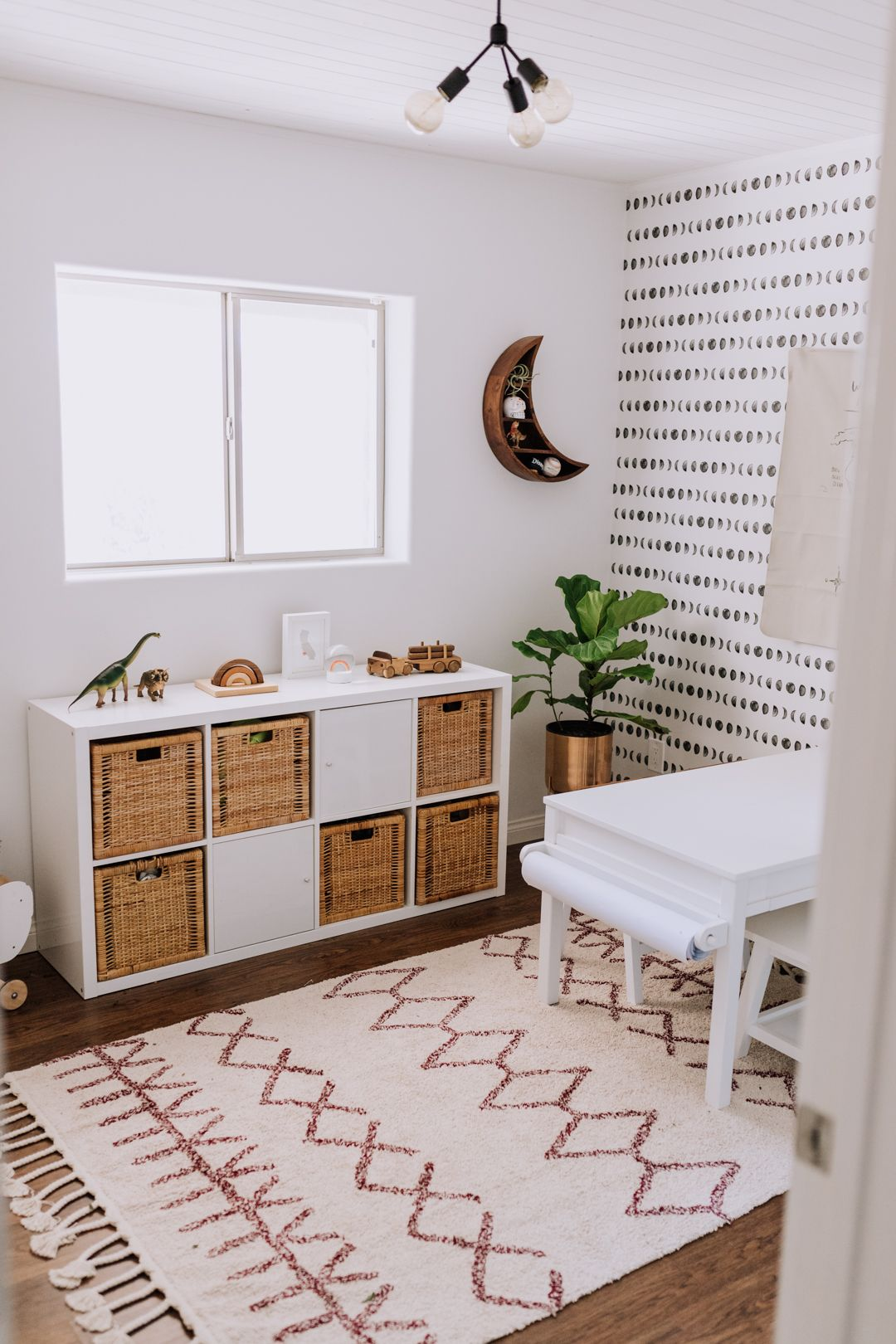 The Ldl Home: Our Playroom Reveal | New House | Kids Room Wallpaper